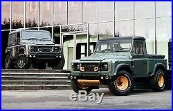 Land Rover Defender 90 Kahn Wide Track Arch Body Kit Set Fender Flares