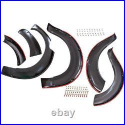 Left+right Fender Flare Wheel Arch Kit for Nissan Navara NP300 2015 Onwards