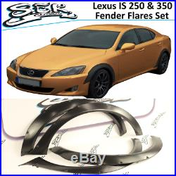 Lexus IS200 / IS350 Wald Style Fender Flares Front and Rear 4PCS Wide Body Kit