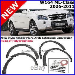 MB ML-Class W164 06-11 AMG Style Arch Extension Fender Flare Aero Diffuser Kit