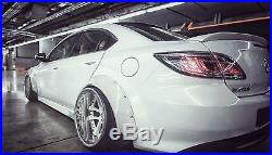 Mazda 6 Fender flares CONCAVE Mazdaspeed6 wide body kit wheel arches 70mm+90mm