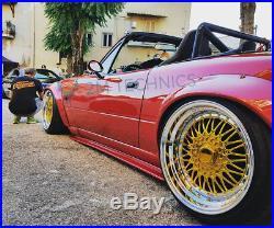 Mazda MX5 NA MK1 Wide Body Over Fenders Kit Miata Flares Wheel Arches