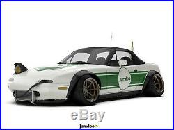 Mazda MX-5 Miata Fender Flares JDM wide body kit wheel arch 120mm 4pcs set