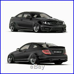 Mercedes-Benz W204 WideBody Kit 2 Doors coupe (Face lift AMG)