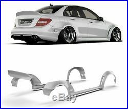 Mercedes-Benz W204 WideBody Kit 4 Doors (Face lift AMG)