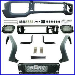Mercedes Benz W463 G CLASS AMG STYLE FRONT BUMPER KIT With FRONT FENDER FLARES