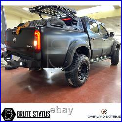 Mercedes X-Class Wide Body Wheel Arches Fender Flares Kit (Overland Extreme)