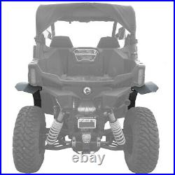 MudBusters Max Coverage Fender Flare Combo Kit for Can-Am Maverick Trail (2018+)