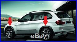 New Genuine BMW X5 E70 Fender Wheel Arch Flare Extension Trim Kit 0421056 OEM
