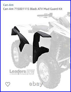 New Genuine Can-Am Mud Guard Fender Extender Flare Kit 715001115
