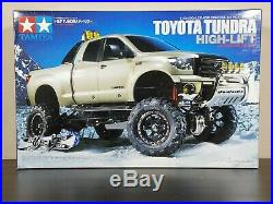 New Tamiya R/C 1/10 Toyota Tundra High-Lift Kit 4x4 Pick Up Truck + Fender Flare