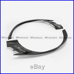 New VTX CBR Carbon Front Over Fender Wide Arch Flares Kit For Mitsubishi EVO 8 9
