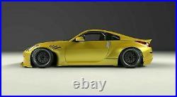 Nissan 350z 350 Z Full Body Kit Bumper Fender Flares Ducktail Look