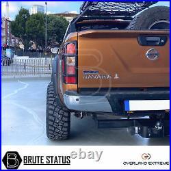 Nissan Navara NP300 2016+ Wide Body Wheel Arches Fender Flares Kit (d23 Ad Blue)