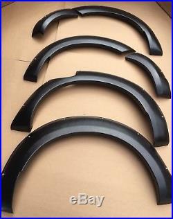 Nissan Navara Np300 2016 Onward Wheel Arches Fender Flares Kit In Textured Black