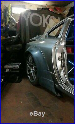 Nissan S15 Silvia 200sx RB Wide Body Kit Rear Fender Flares Arches Overfenders