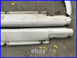 OEM BMW E30 Alpineweiss Body Kit Side Skirts Fender Flares 88-91 325ix