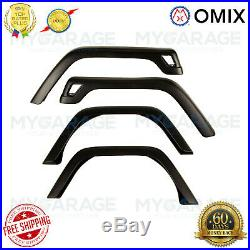 Omix 11603.02 Factory Style Front Fender Flare Kit for 97-06 Jeep Wrangler TJ