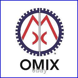 Omix-Ada 11608.01 7-Inch Black Fender Flare 6 Piece Kit for Jeep Wrangler