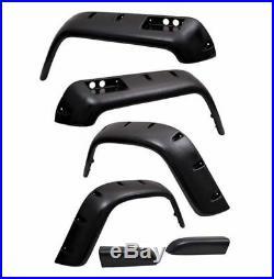 Omix All Terrain Fender Flare Kit, 6 Piece for 76-86 CJ5/CJ7/CJ8 Scrambler