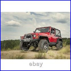 Omix For 1997-2006 Jeep Wrangler TJ Hurricane Fender Flare Kit, Textured Black