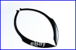 PU Rear Side Wheel Arch Fender Flares Trim Kit Fit for Subaru Impreza WRX 02-09