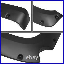 Pocket-riveted Wheel Fender Flares Kit For 07-13 Silverado 1500 69.3fleetside