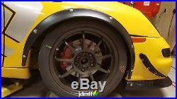 Porsche Boxster Fender flares JDM wide body kit 50mm + 90mm 4pcs full set