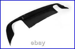 Rear Bumper Lip Diffuser Body Kit Fit For Audi A6 Non-Sline 2009-2011 Factory