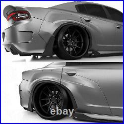 Rear fender flares LION'S KIT V1 for Dodge Charger VII th LD S2 15