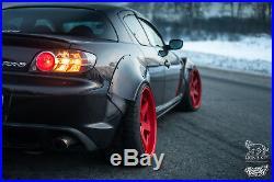 Rear fender flares LION'S KIT for Mazda RX8 RX-8 SE3P S1 S2 2003-2012 fenderkit