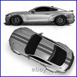 Rear widebody fender flares LION'S KIT V1 for Ford Mustang VI 6 S550 15