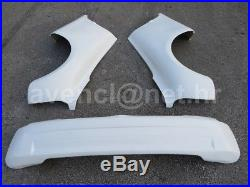 Renault Clio Super 1600 Wide Full Body Kit Fender Flares Wheel Arches Extensions