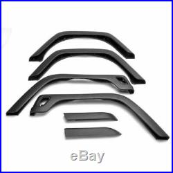 Rugged Ridge 11603.11 Replacement Fender Flare Kit (6 pcs.), For 97-06 Jeep TJ