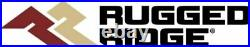 Rugged Ridge 11630.10 Blk All Terrain Fender Flares Kit for Jeep Wrangler TJ/LJ