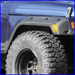 Rugged Ridge 11630.20 4.75'' All Terrain Fender Flare Kit for 97-06 Jeep TJ
