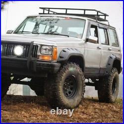 Rugged Ridge 11634.10 All Terrain Fender Flare Kit 6 Piece for 1984-01 Jeep (XJ)