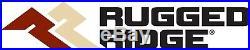 Rugged Ridge 11640.09 Hurricane Fender Flare Kit Fits 2007-2018 Jeep Wrangler