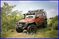Rugged Ridge 11640.09 Text. Black Hurricane Fender Flare Kit for 07-18 Jeep (JK)
