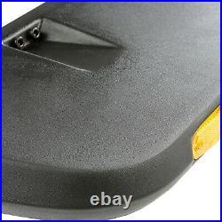 Rugged Ridge 11640.10 Hurricane Flat Fender Flare Kit for 2007-18 Wrangler (JK)