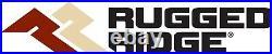Rugged Ridge 11640.30 Hurricane Fender Flare Kit Fits 1997-2006 Jeep Wrangler/TJ