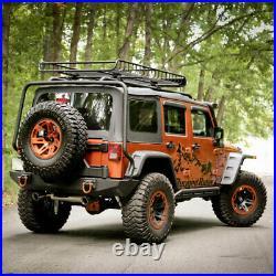 Rugged Ridge Hurricane Fender Flare Kit EU Textured for Jeep Wrangler JK 07-18