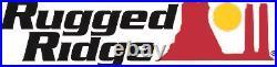 Rugged Ridge Hurricane Fender Flare Kit, Textured Black 97-06 for Jeep Wrangler