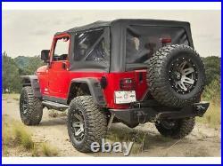 Rugged Ridge Hurricane Fender Flare Kit for 97-06 Jeep Wrangler TJ