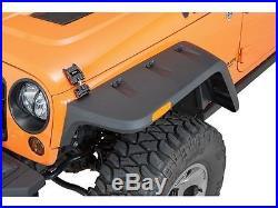 Rugged Ridge Hurricane Flat Fender Kit for 07-18 Jeep Wrangler JK 11640.10 Black