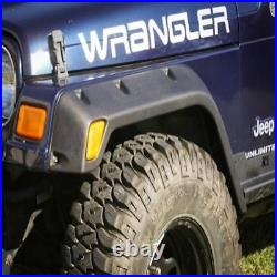 Rugged Ridge Pocket Fender Flare Kit 4.75 Tj For Jeep 97-06 Wrangler X11630.20