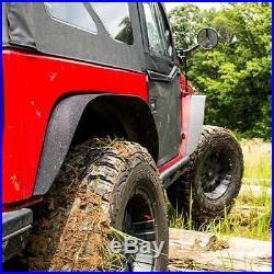 Smittybilt XRC Fender Flare Kit Jeep Wrangler JK JKU 2007-2017 Black 76837