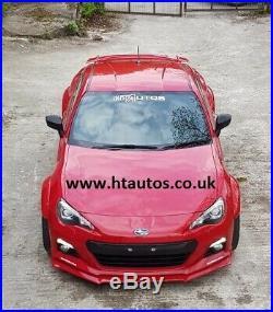 Subaru BRZ Fender Flares / wide arch body kit. PU. HT Autos UK