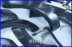 Subaru Impreza 00-07 Fender Flares Set WRX STI Wide Body Kit + CutOuts Panels