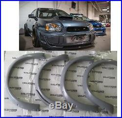 Subaru Impreza 03-04 Karlton Style fender flares wide body kit
